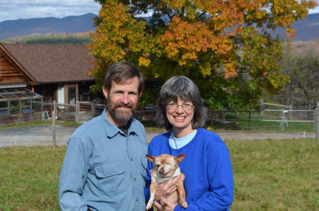 Steve and Alayne with Wilbur for blog 1
