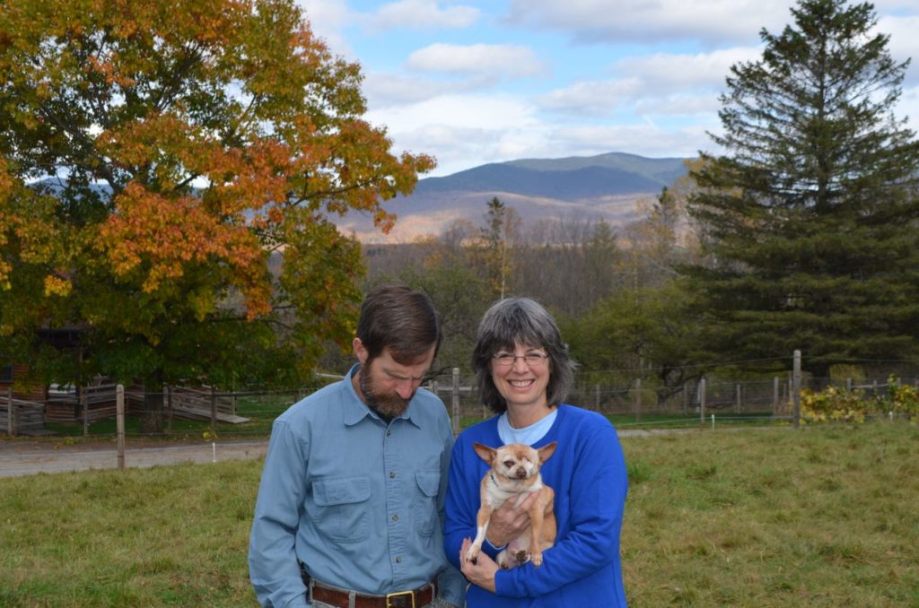 Steve and Alayne with Wilbur for blog 2