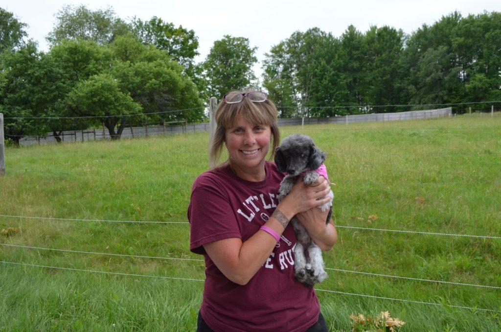 Mabel with Lori